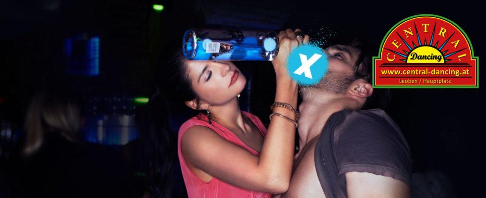Exakt Vodka im Boot